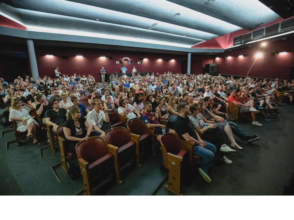 Animation fest audience 2019 in cinema Electronic